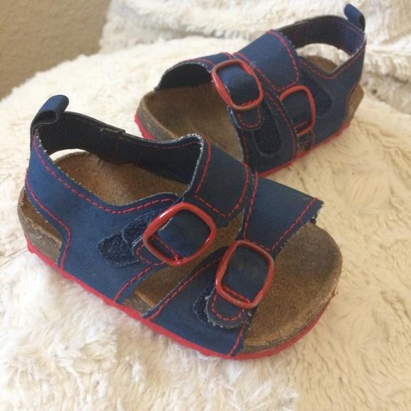 Rising Star Baby Boys Blue Sandals 92